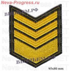 Нашивка по годам службы (годовка) 8 восемь лет службы (выслуги лет)