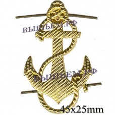 The anchor metal. 43 mm height corrugated.