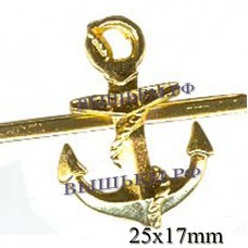 The anchor metal. 25 mm height. on clamare.