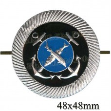 Metal badge for cadets of educational institutions of the fishing fleet (fish).
