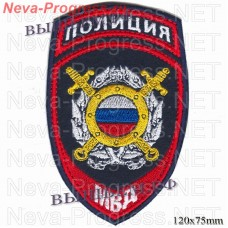 Patch police new sample for employees of departments of public security and operational divisions