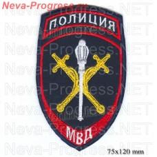 Нашивка полиции нового образца  Начальников территориальных органов МВД