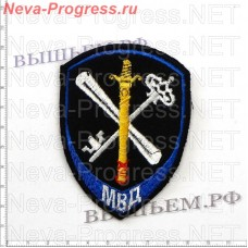 Patch police new model for staff support for the activities of internal Affairs bodies (blue edging)