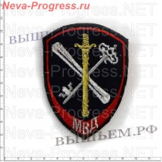 Patch police new model for staff support for the activities of internal Affairs bodies (red piping)
