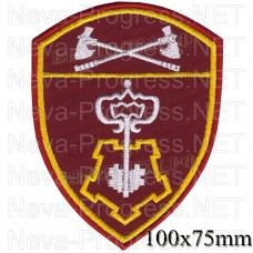 Patch private security for the Volga Federal district of National guard troops, Regardie, national guard RF (von MOSS, maroon, olive, or black)
