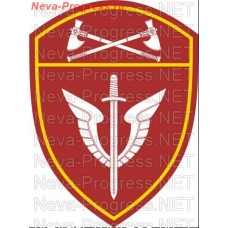 Patch - the insignia for the functional purpose of troops to mobile units of special purpose (OMON) for the Volga Federal district of national guard troops of the Russian Federation, Regardie, national guard RF (von MOSS, maroon, olive, or black)