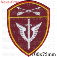 Patch - the insignia for the functional purpose of troops to mobile units of special purpose (OMON) Siberian region of national guard troops of the Russian Federation, Regardie, national guard RF (von MOSS, maroon, olive, or black)