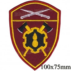 Badge engineering military units Severo-the Caucasian district troops of the National guard, Regardie, national guard RF (von MOSS, maroon, olive, or black)