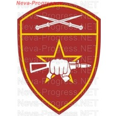 Patch - the insignia for the functional purpose to military units of special purpose (SN) of the North-Caucasian district of national guard troops of the Russian Federation, Regardie, national guard RF (von MOSS, maroon, olive, or black)