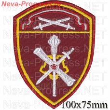 Patch management of THE North-West of the Order of the red Star district of National guard troops, Regardie, national guard RF (von MOSS, maroon, olive, or black)