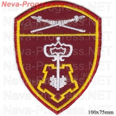 Patch private security in the Eastern district of National guard troops, Regardie, national guard RF (von MOSS, maroon, olive, or black)