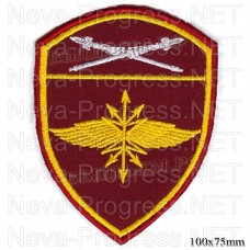 Patch military units of the Eastern district when troops of the National guard, Regardie, national guard RF (von MOSS, maroon, olive, or black)