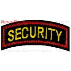 Badge on sleeve SECURITY
