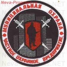 Patch private security company (PSC) Municipal protection