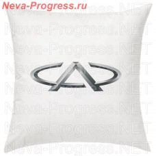 Pillow with embroidered logo CHERRY in the interior of the car, size and choose color in the options
