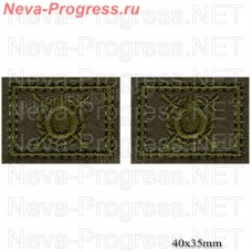 Patch buttonholes of Internal troops, Asgardia, the National guard of Ukraine (field) price for a pair of button holes