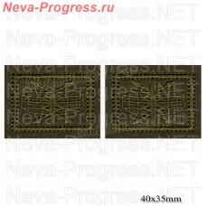 Нашивка петлицы Радиотехнические войска РТВ ВС РФ (полевой) цена за пару петличек