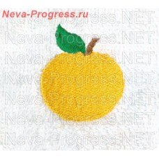 Towel with embroidery Apple sizes and colors in stock