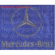 Towel with embroidered Mercedes-benz sizes and colors in stock