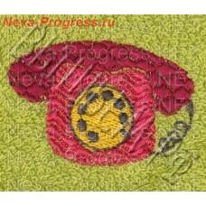 Полотенце с вышивкой  телефона  размеры и цвета в ассортименте
