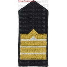 Shoulder straps (shoulder marks) civil fleet for staff of cruise ships (white gaps) Price per pair