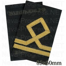 Fanspage (shoulder marks) civil sea transport and fishing fleet in 2 categories. (Seaman class II) Price per pair.
