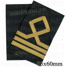 Fanspage (shoulder marks) civil sea transport and fishing fleet 3 category.(Seaman first class/ the sailor's) Price per pair.