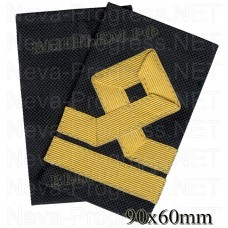 Fanspage (shoulder marks) civil sea transport and fishing fleet 5 category.(Boatswain) Price per pair.