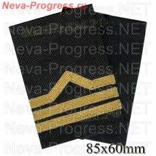 Fanspage (shoulder marks) civilian river transport and fishing fleet 3 category. (boatswain) Price per pair.