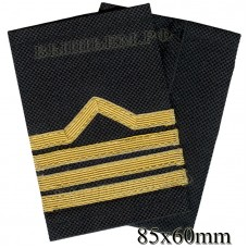 Fanspage (shoulder marks) civilian river transport and fishing fleet 4 categories.( Sergeant-mechanic of the boat) Price for the pair.