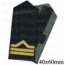 Shoulder straps (shoulder marks) civilian river transport and fishing fleet 3 category. (boatswain) Price per pair.
