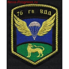 Patch 76th guards air assault Chernigov, order of Suvorov division (pentagonal)
