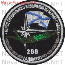 Patch 269-th special forces to fight with FTS (gadzhiyevo, SF)