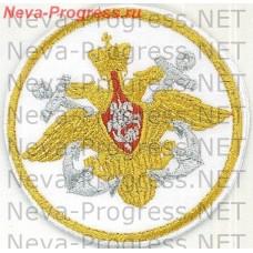 Stripe Navy Russia (metanite on white background)