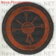Stripe Navy round, red on a black background specialist Navigator warhead warhead-1