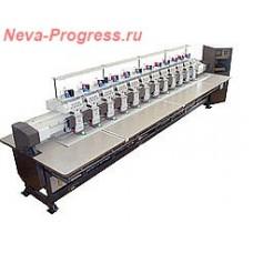 Embroidery machine ZSK 174/12 - 12 heads, 6 needle