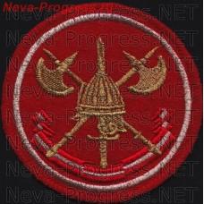 Нашивка 1 отдельная стрелковая бригада охраны МО РФ (2007г)