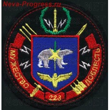Patch 223 missile regiment (in/HR 46177), the Perm region, the 52nd missile division.