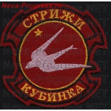 Patch 237 aviatsentr Swifts. Kubinka