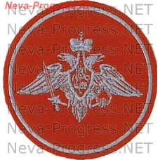 Patch Army Russia round grey thread sample until 2012