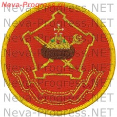 Patch Moscow military district (serger)