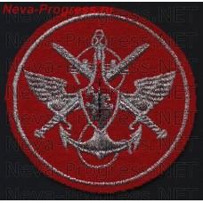 Нашивка органы военного управления образца 2006 года