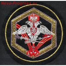 Нашивка Войска РХБЗ (метанить) образец 2002 года