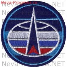 Нашивка Командование Космических Войск ВС РФ