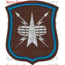Patch Space military of Russia in the form of a shield of the specimen to 2012
