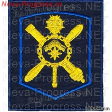 Patch 45 army, air force and air defense Murmansk (dark blue, olive background)