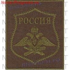 The patch of Air and space forces of the Russian Federation for a field form