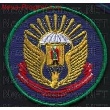 Шеврон Рязанское высшее воздушно-десантное командное училище им. В.Ф. Маргелова ( образец 2005 года вариант 2)