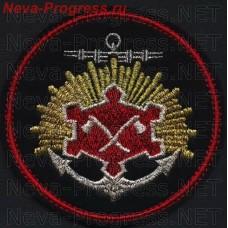 Нашивка Военный инженерно-технический университет (Николаевский) (ВИТУ) в Санкт-Петербурге ( вариант 1)